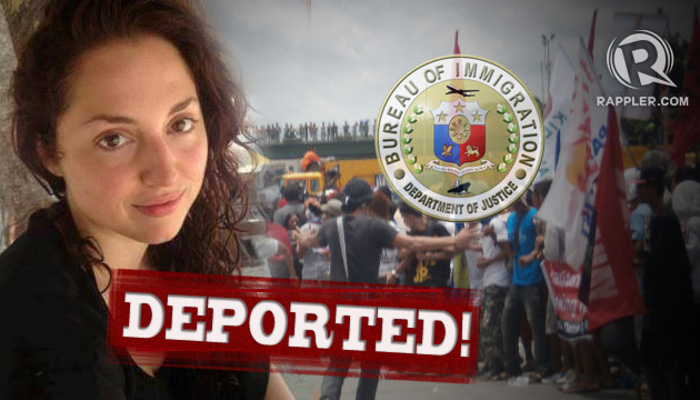 People get deported every day - don't let it be you!