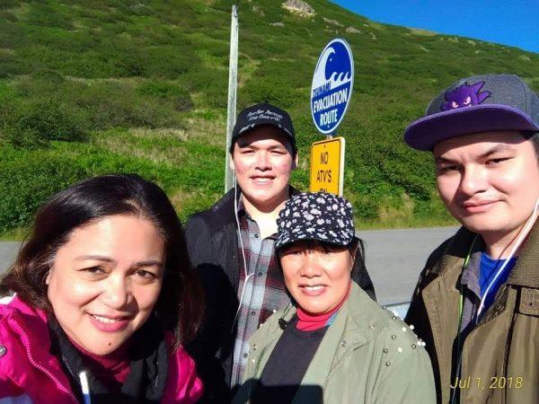 More walking during free time while not working in Alaska
