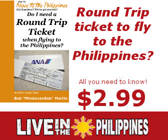 Round Trip Ticket for the Philippines