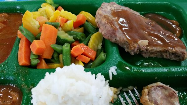Mess Hall Food - A typical meal