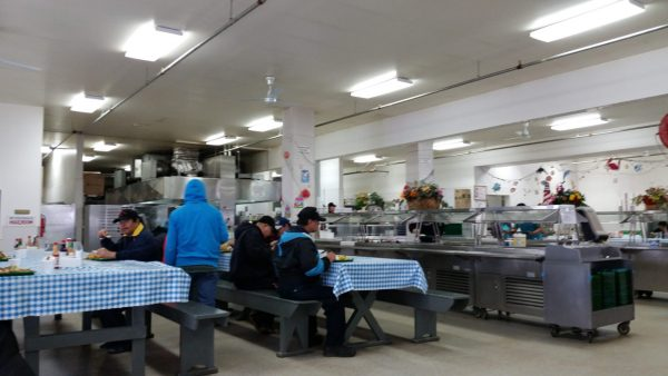 You always see and eat with friends in the mess hall