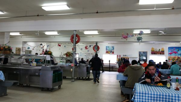 Mess Hall in our Workplace