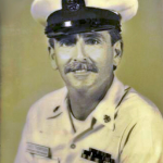 Official Navy photo, SHCS Thompson